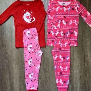 Gymboree 2 Sets Pajamas 3T